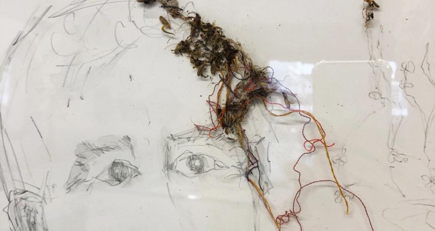 """Ergebnisse des Workshops """"Growing Favric"""" mit Freya Probst"""