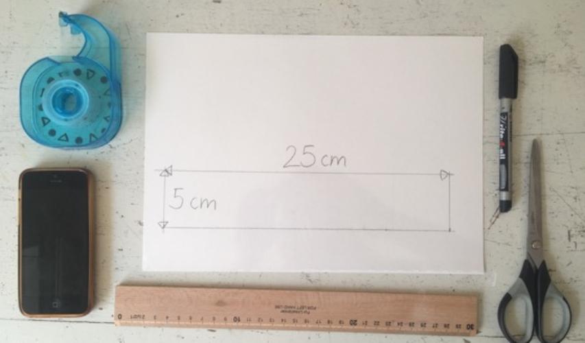 Material DIY-Hologramm-Projektor